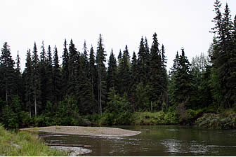 Excellent salmon fishing on the Little Su is available from on the banks of Little Susitna River Campground in Houston Alaska.