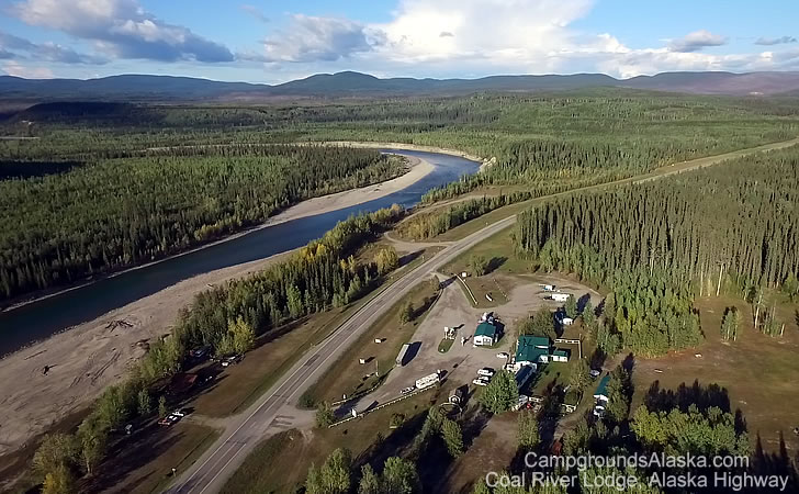 Alaska Highway Lodge and RV Park For Sale