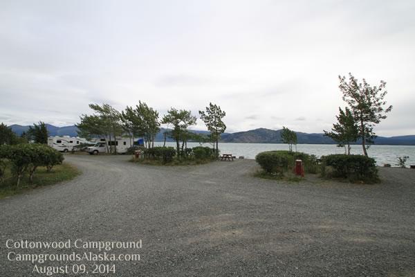 Cottonwood Rv Park On Kluane Lake Alaska Highway
