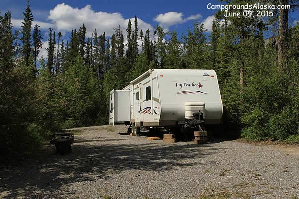 Muncho Lake Rv Park Alaska Highway B C