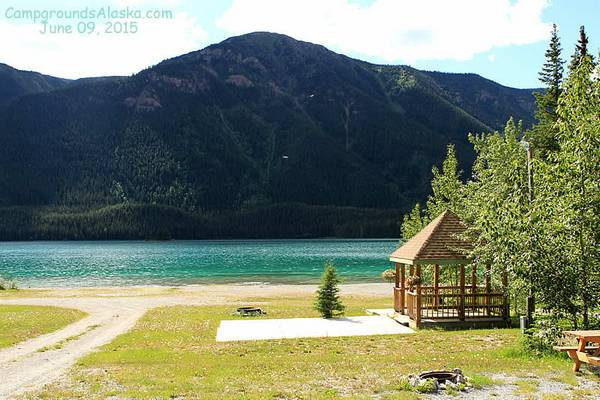 Muncho Lake Rv Park Alaska Highway B C