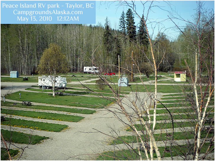 Peace Island Rv Park On The Alaska Highway