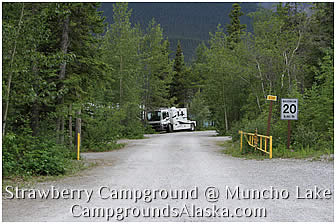 how to get to muncho lake provincial park
