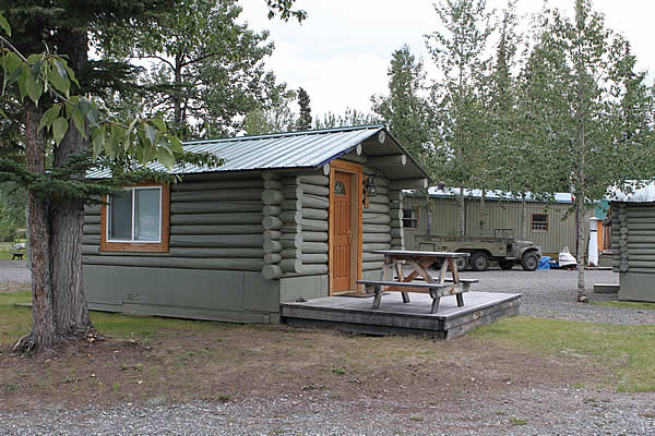 trapper cabin in creekside alaska cabins