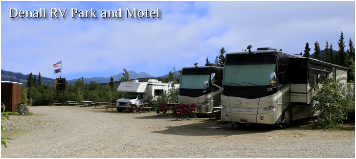 Denali Alaska Rv Parks And Campgrounds