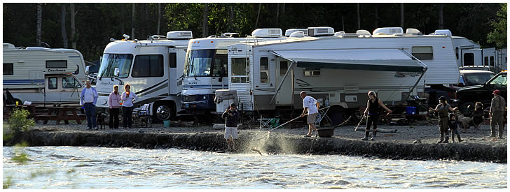 Alaska offers so much for families with RV's.