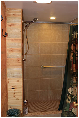 New Showers at the Mat Su RV Park
