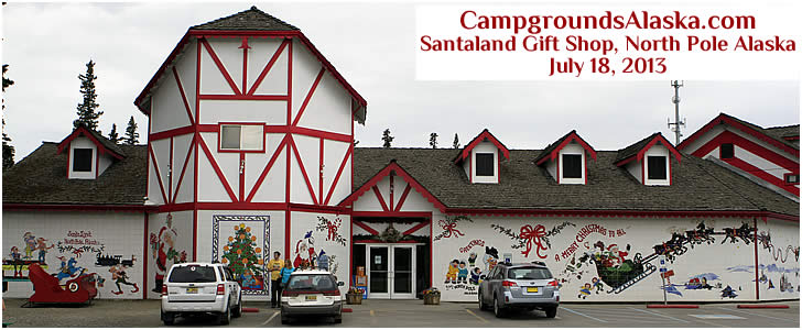 While Santa Land RV Park is closed, the gift shop is still open for business.