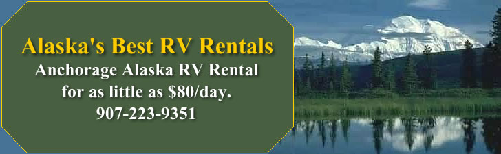 Anchorage Alaska RV and Motor Home Rentals