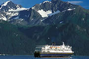 See coastal Alaska from the Alaska State Ferry System.