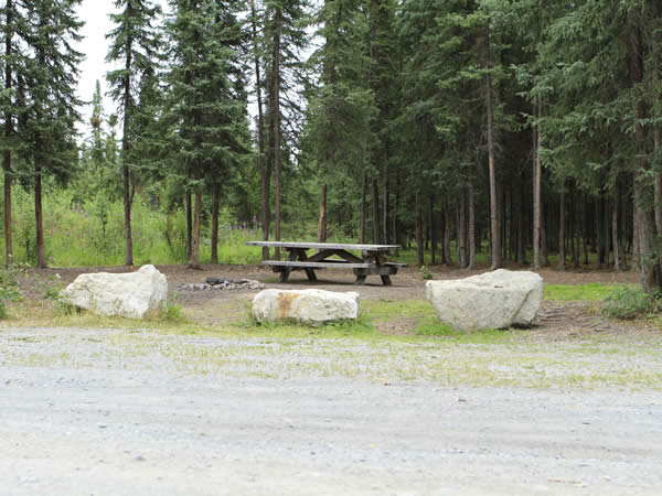 Kelly Lake Campground on the Kenai Peninsula