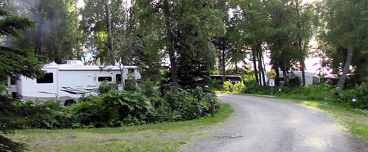 Lower loop at Discovery Campground on the Kenai Peninsula.