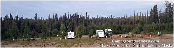 C Lazy Moose RV Park in Salcha, Alaska
