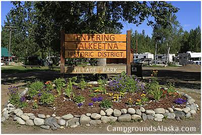 Talkeetna Alaska Campgrounds