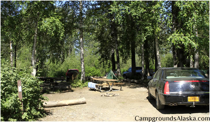 Talkeetna City Park Tent Camping